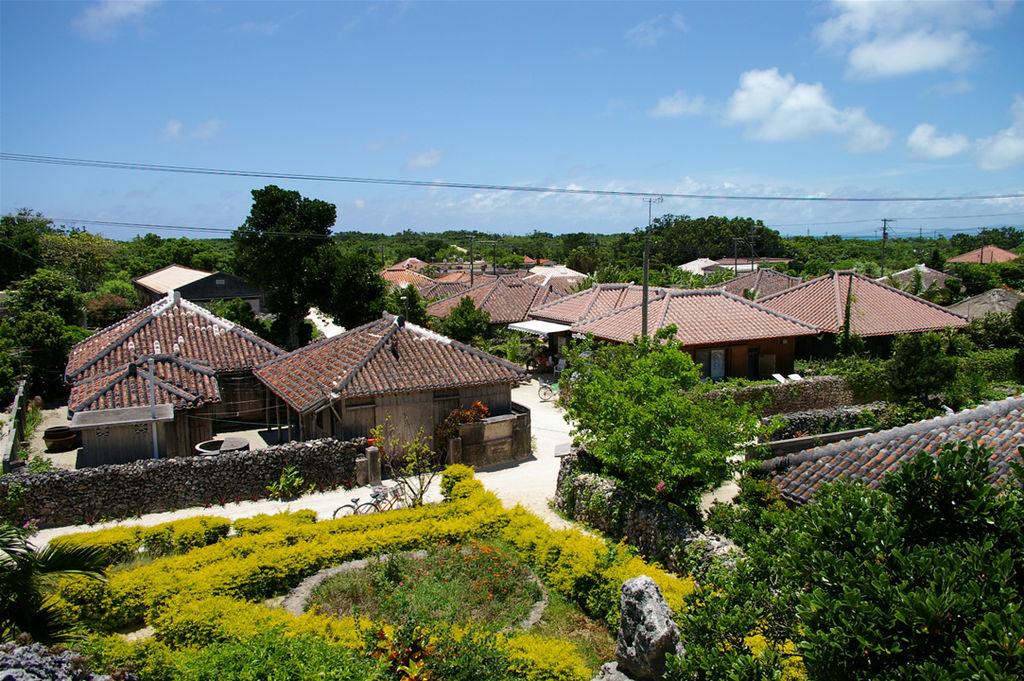 沖縄県の竹富島