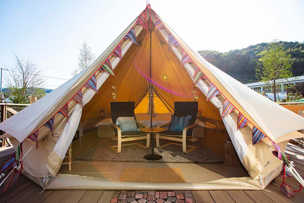ベル型テント