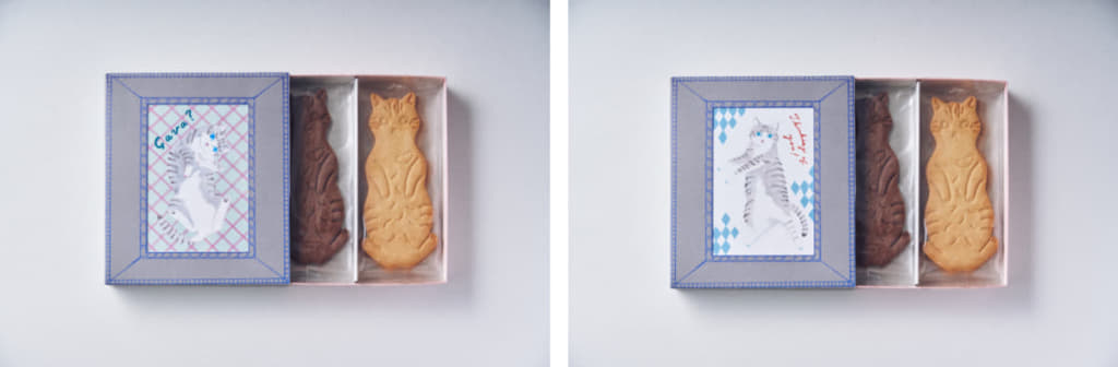 「LetterBOX cat cookie ネコクッキーレターボックス」